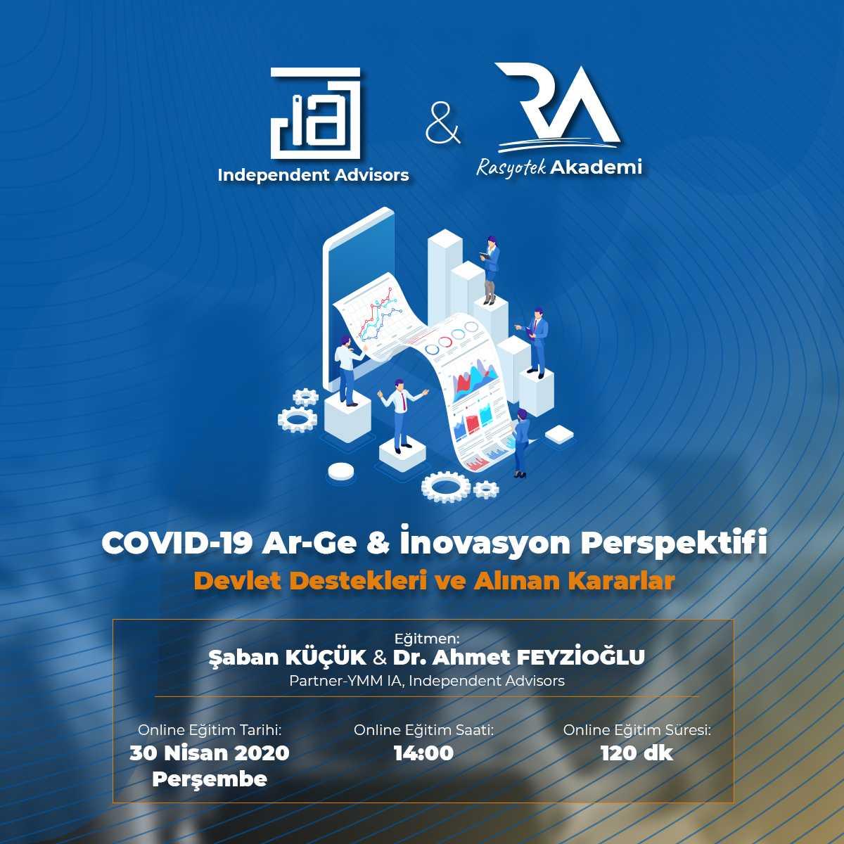 COVID-19 AR-GE ve İnovasyon Perspektifi Devlet Destekleri ve Alınan Kararlar