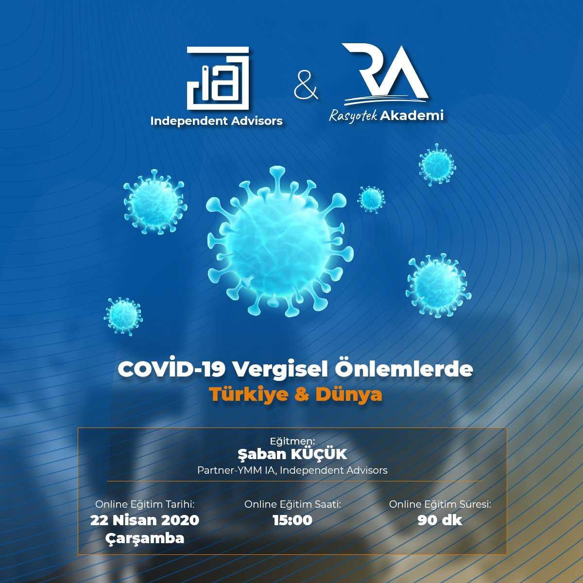 COVID-19 Vergisel Önlemlerde Türkiye & Dünya